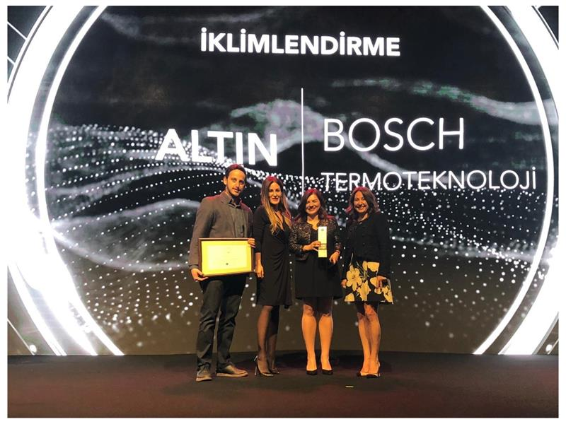 Social Media Awards'tan Bosch Termoteknoloji'ye ödül!